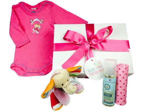 Winter Essentials Box 'Elefant' für Baby Mädchen