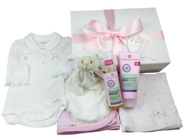 Winter Essentials Box 'Lämmchen' für Baby Mädchen