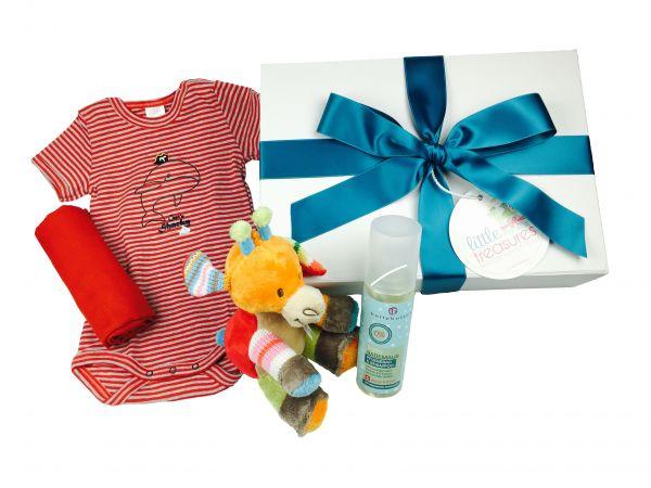 Sommer Essentials Box 'Giraffe' für Baby Jungen